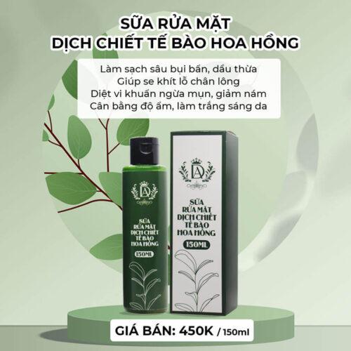 sua-rua-mat-dich-chiet-te-bao-hoa-hong-150ml-dranh