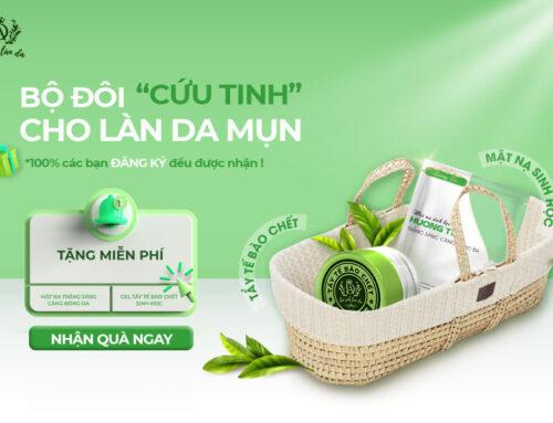 """Tặng Free 100% Bộ Đôi """"CỨU TINH"""" Cho Làn Da MỤN từ Dr. Ánh"""